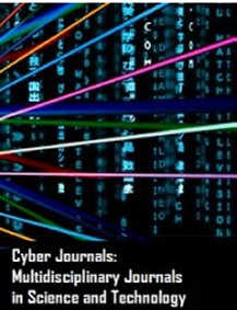 The cover of the journal 'Cyber          Journals: Multidisciplinary Journals in Science and Technology'.