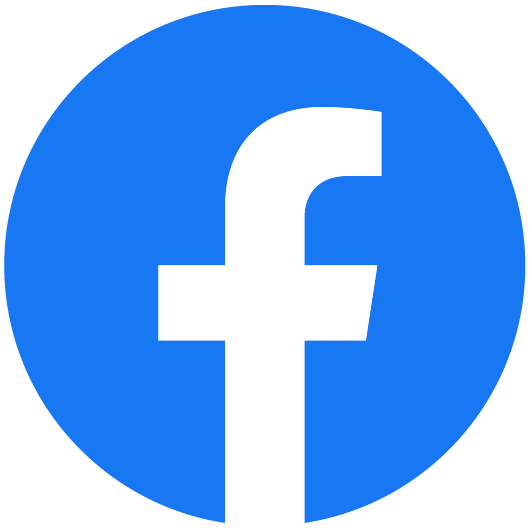 The          logo of Facebook.