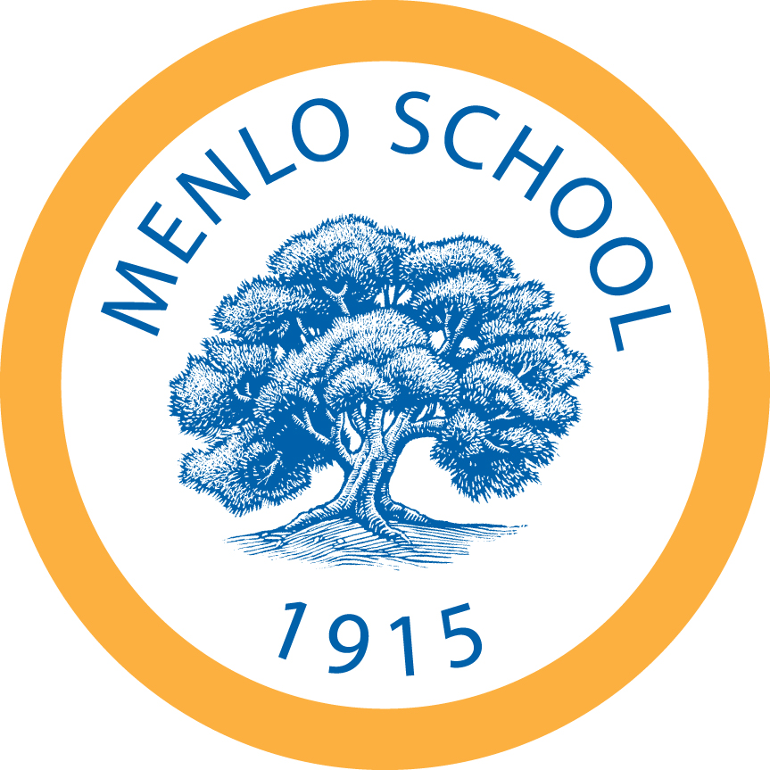 The logo          of Menlo School. Text says: Menlo School, 1915.  In the center, an oak          tree.